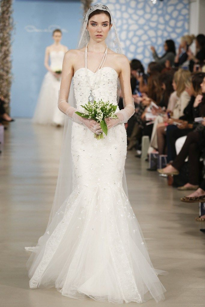 Oscar de la Renta Alexa 55E05 Discount Designer Wedding Dress