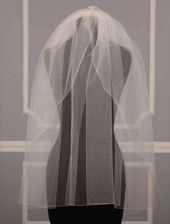Jennifer Leigh Tulip Bridal Veil