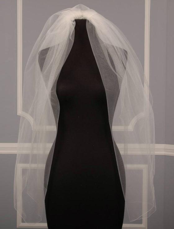 Jennifer Leigh Tulip Bridal Veils
