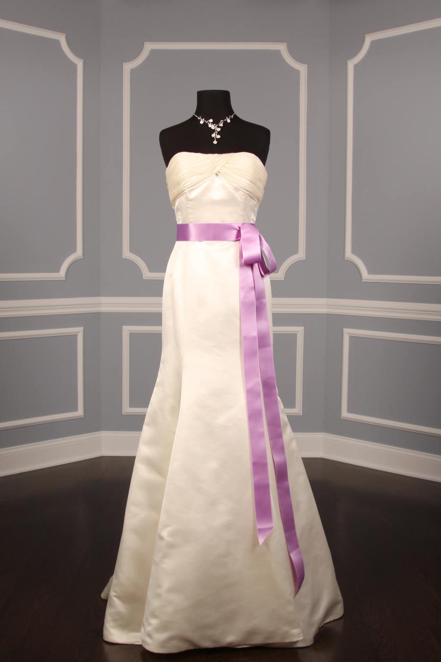 Lilac Double Faced Satin Ribbon Sash