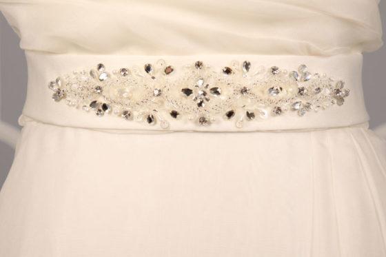 SBLT17 Embellished Bridal Sash