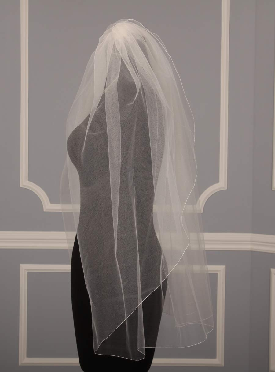 Jennifer Leigh Tulip Bridal Veil On Sale Your Dream Dress
