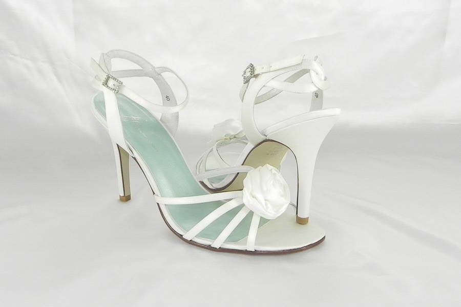 Fifi Filippa Scott Poppy White Bridal Shoes