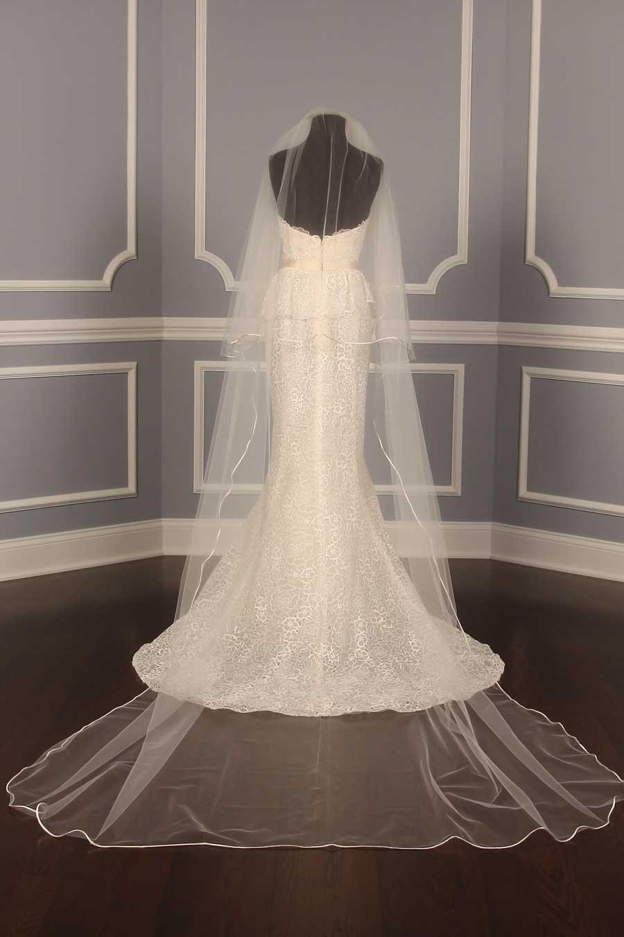 YDD Exclusive S5570VL Ivory Chapel Length Bridal Veil