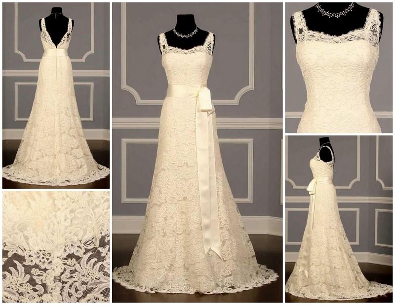 Monique Lhuillier Weddin Dress
