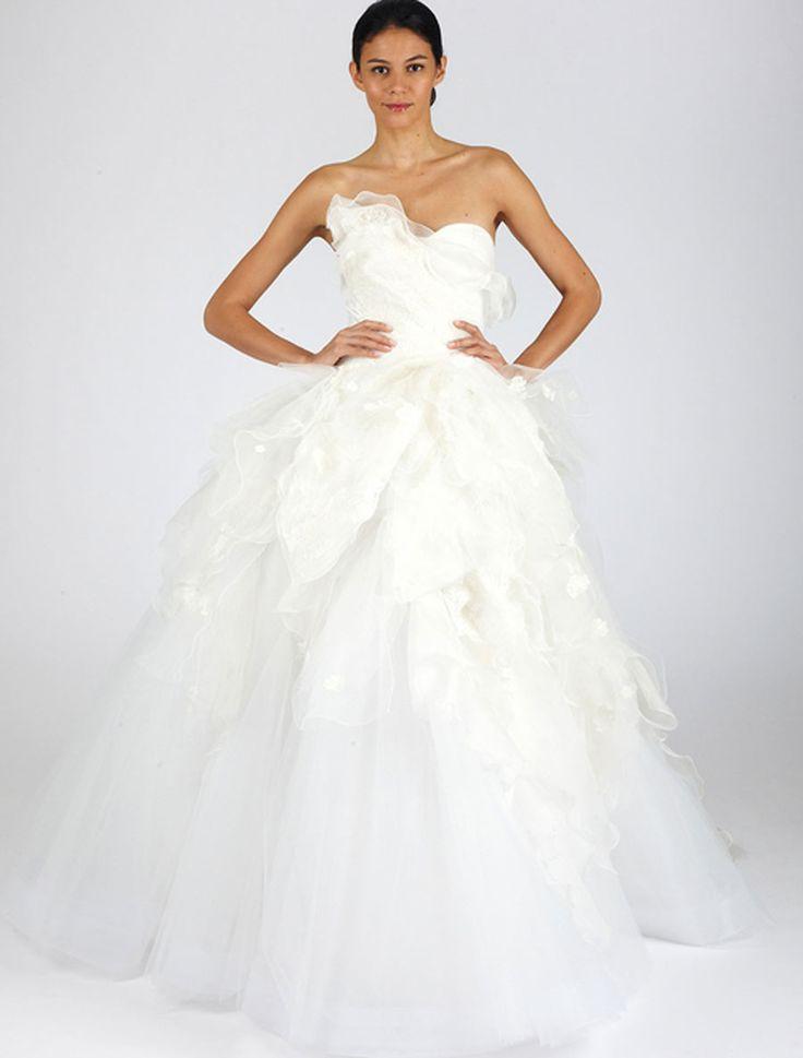 Oscar de la Renta 44N65 Wedding Dress