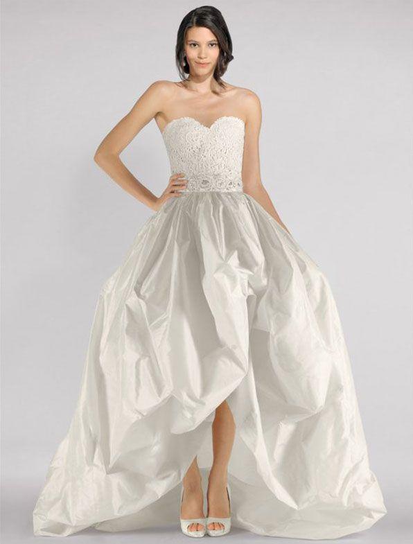 Oscar de la Renta 33N99 Wedding Dress Two Piece