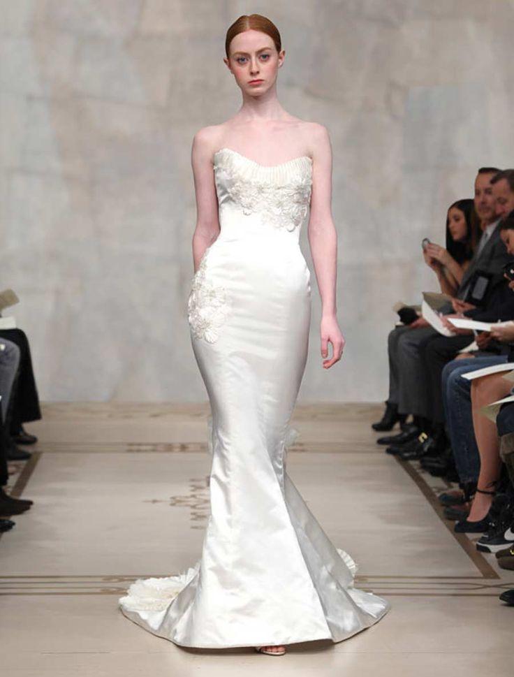 Reem Acra Violet 4214 Wedding Dress