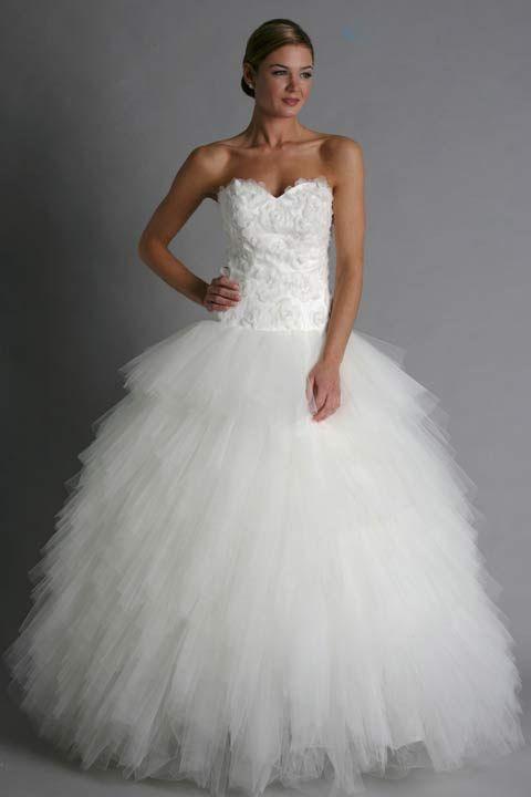 $980~ Modern Trousseau Phoebe Wedding Dress