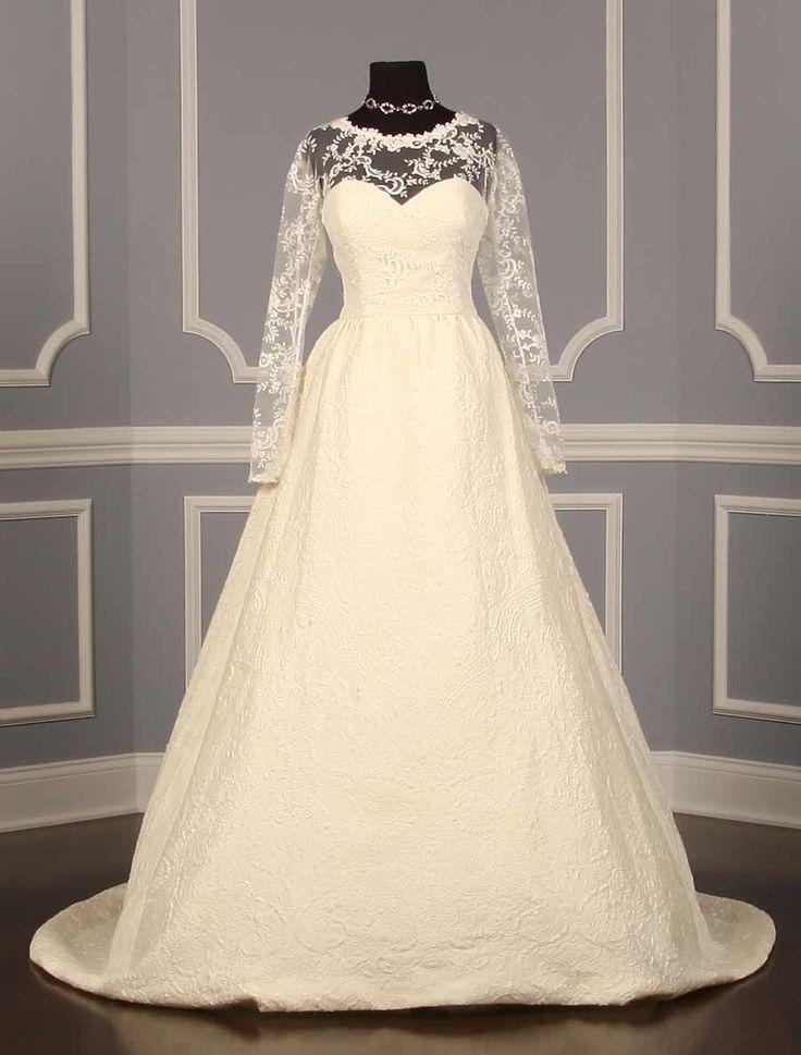 Oscar de la Renta 44N66 Wedding Dress