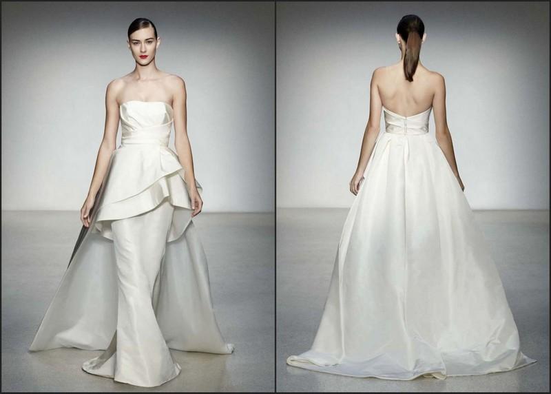 Amsale Hudson A629 Wedding Dress