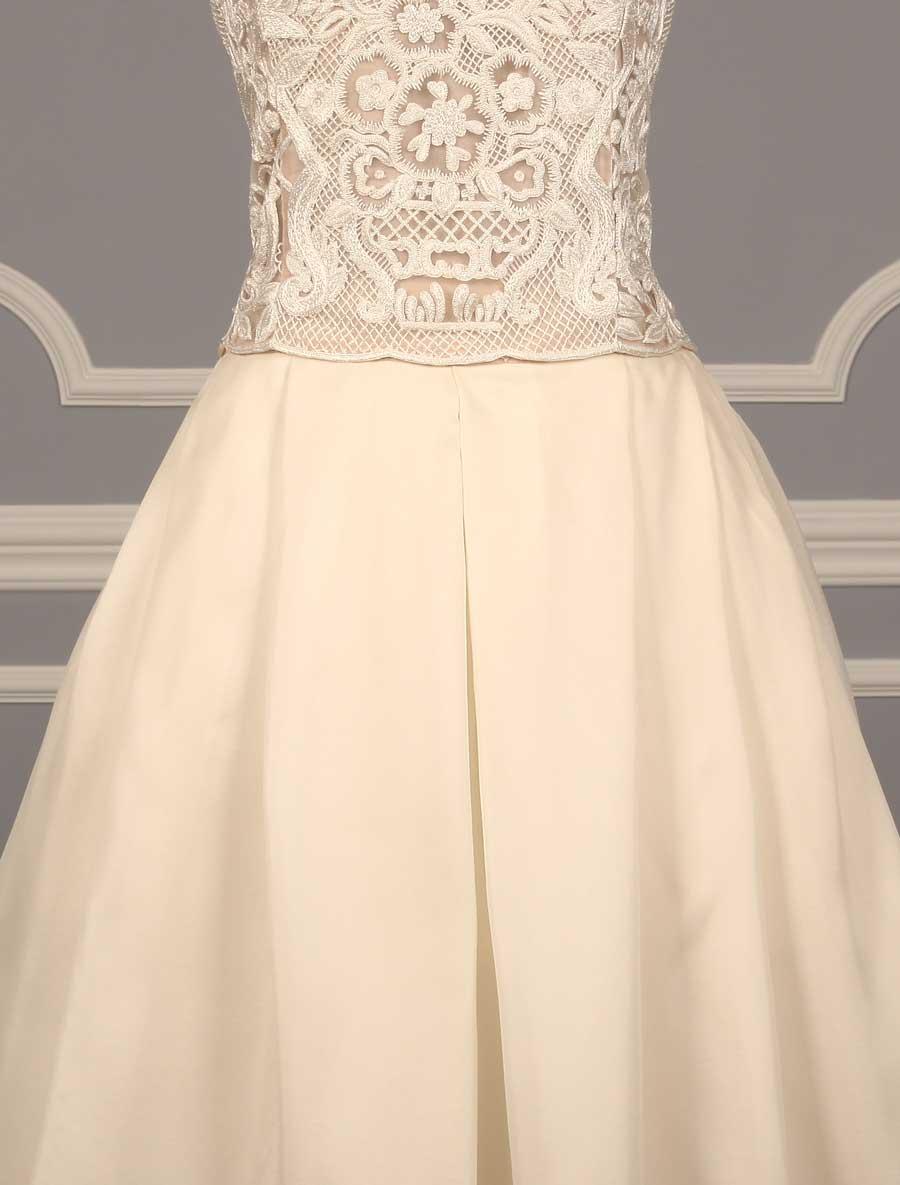 Naeem Khan Lisbon Wedding Dress Discounted On Sale