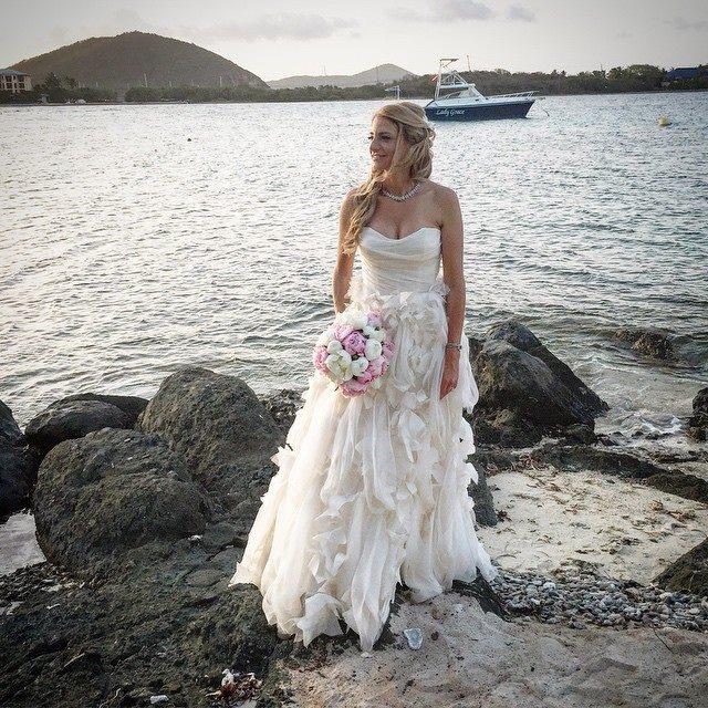 Monique Lhuillier Wedding Dress