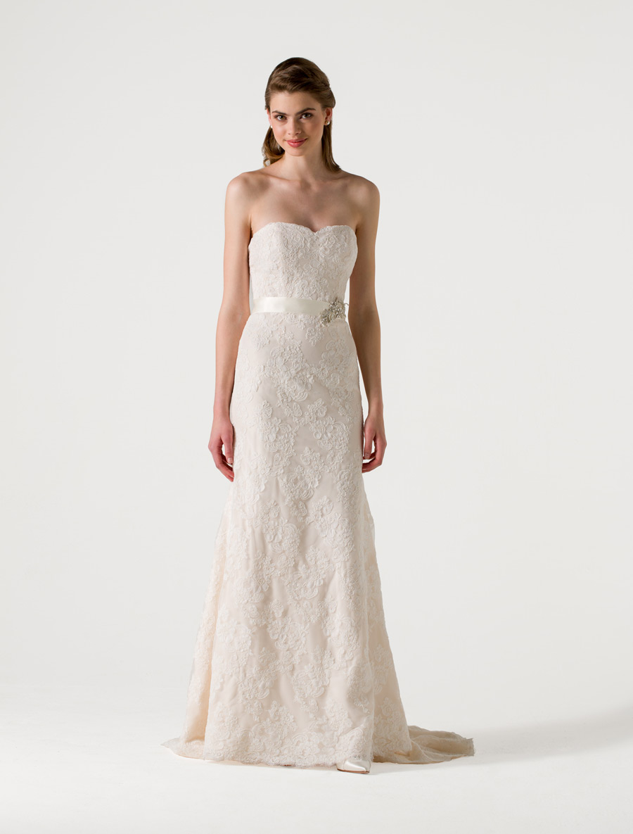Anne Barge Eden Wedding Dress Blue Willow Bride