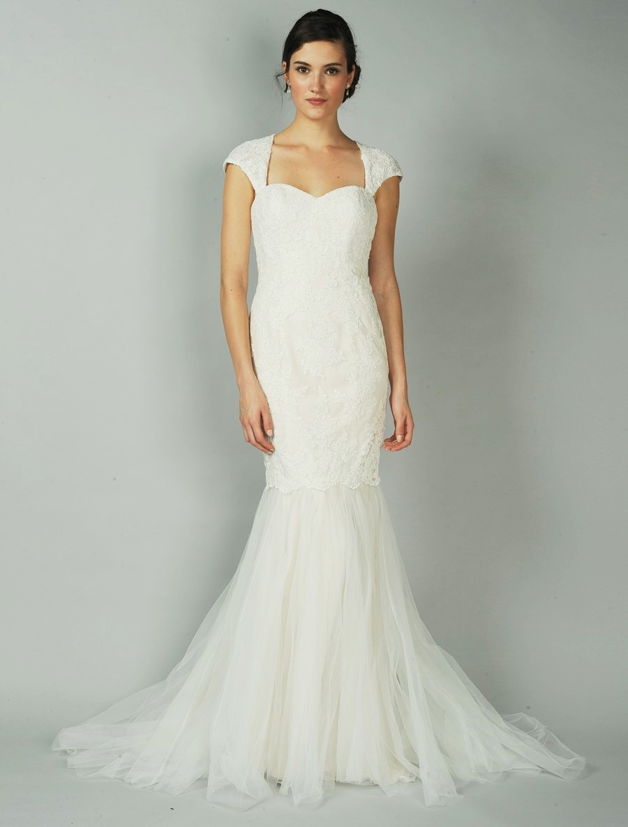 Anne Barge Cameo Wedding Dress Blue Willow Bride