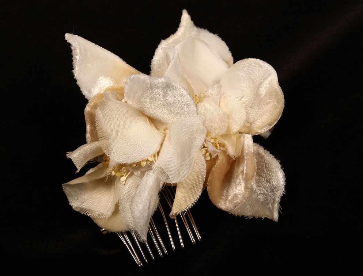 Ossai Ivory Hair Flower On Sale Your Dream Dress