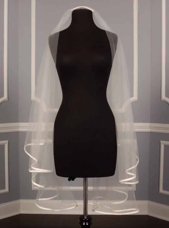 Your Dream Dress Exclusive S5815VL Diamond White Fingertip Length Bridal Veil
