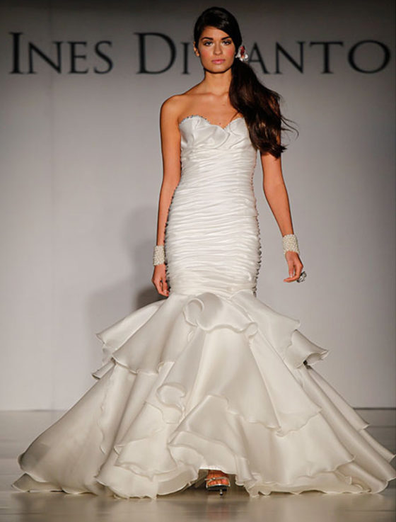 Ines Di Santo Brigitte Wedding Dress