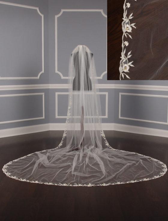 St Pucchi M1324-2 Bridal Veil