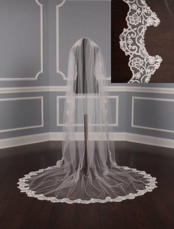 St. Pucchi M1295 Bridal Veil