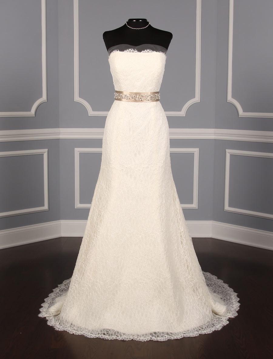 Champagne embellished bridal sash on sale your dream dress for Sashes for wedding dresses
