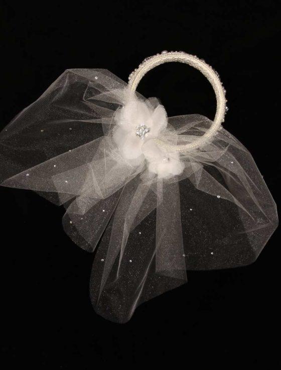 Homa Bridal Circular Style Headpiece