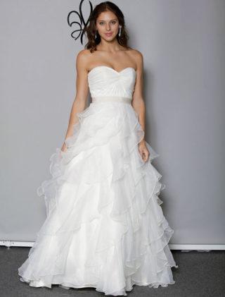 Anne Barge Blue Willow Bride Lyric Wedding Dress