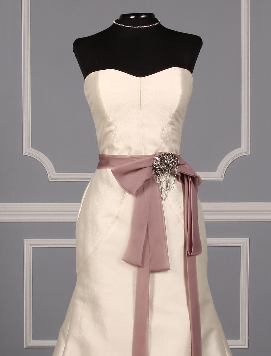 Monique lhuillier marcella bridal sash on sale your for Monique lhuillier wedding dresses