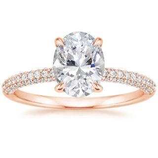 Brilliant Earth Rose Gold Diamond Engagement Wedding Ring