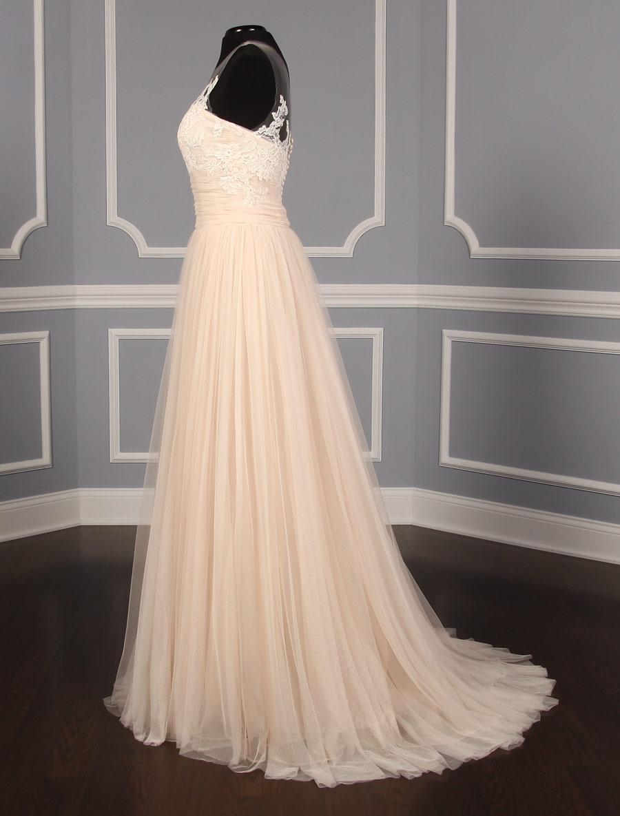 Christos Discount Designer Wedding Dress Mia T327