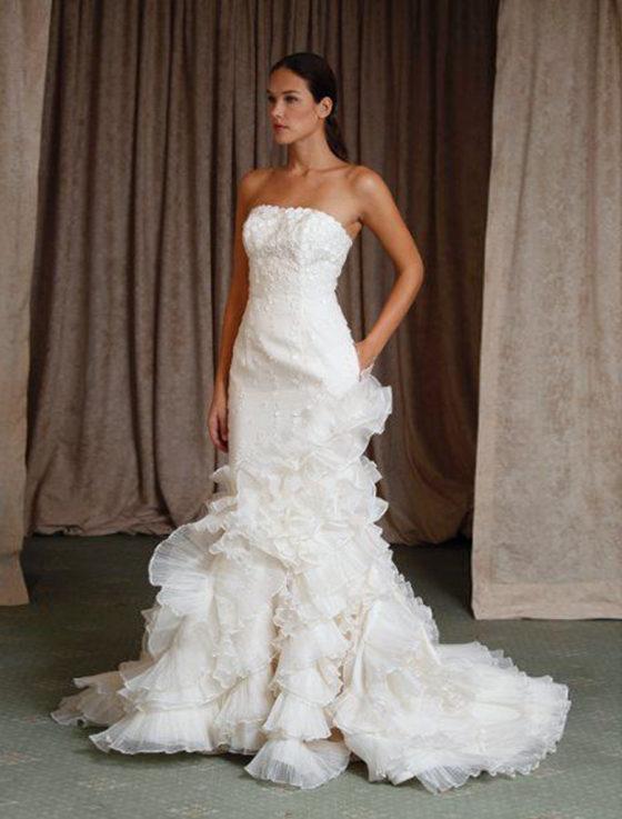 St. Pucchi Violet Z337 Wedding Dress