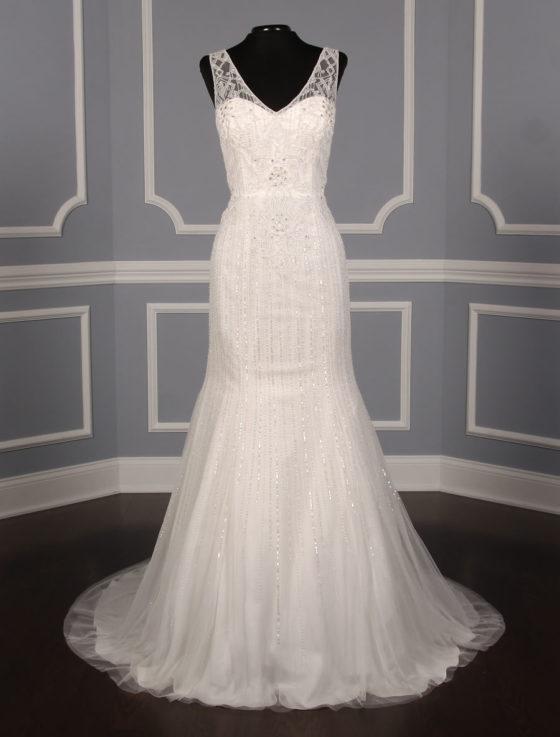 Pronovias Olsen Discount Designer Wedding Dress
