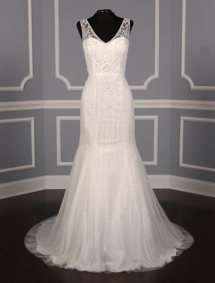 Pronovias olsen discount designer wedding dress your for Affordable couture wedding dresses