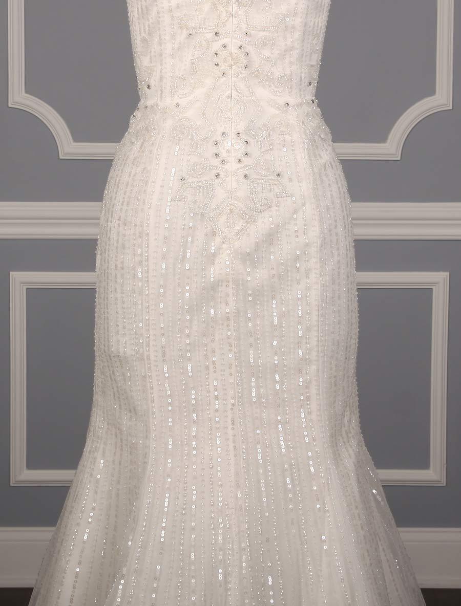 pronovias olsen wedding dress back skirt detail your dream dress. Black Bedroom Furniture Sets. Home Design Ideas