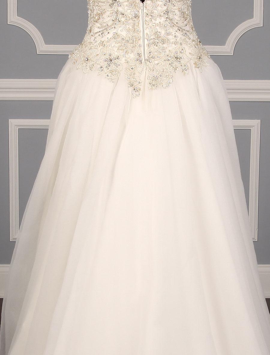 casablanca 2191 wedding dress back skirt detail your dream dress. Black Bedroom Furniture Sets. Home Design Ideas