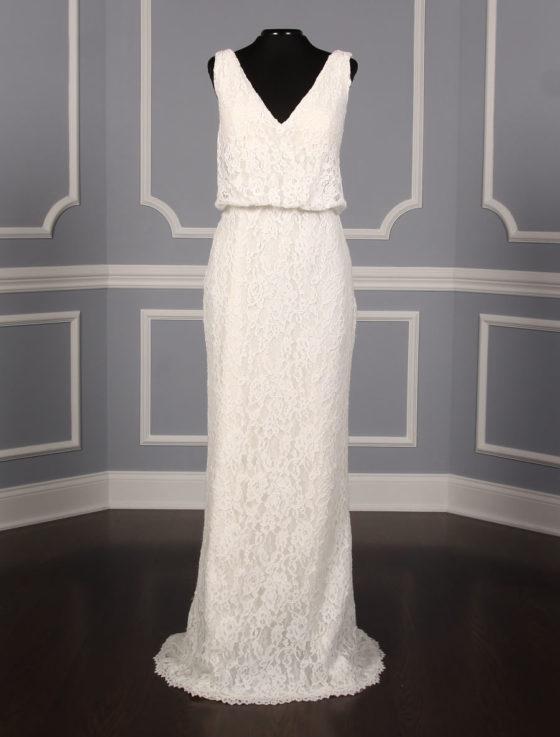Pronovias Preslie Discount Designer Wedding Dress