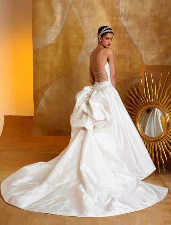 St. Pucchi Carmen Z178 Wedding Dress Back
