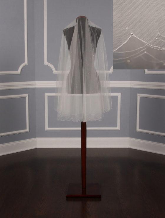 Jennifer Leigh Jovienne Bridal Veil