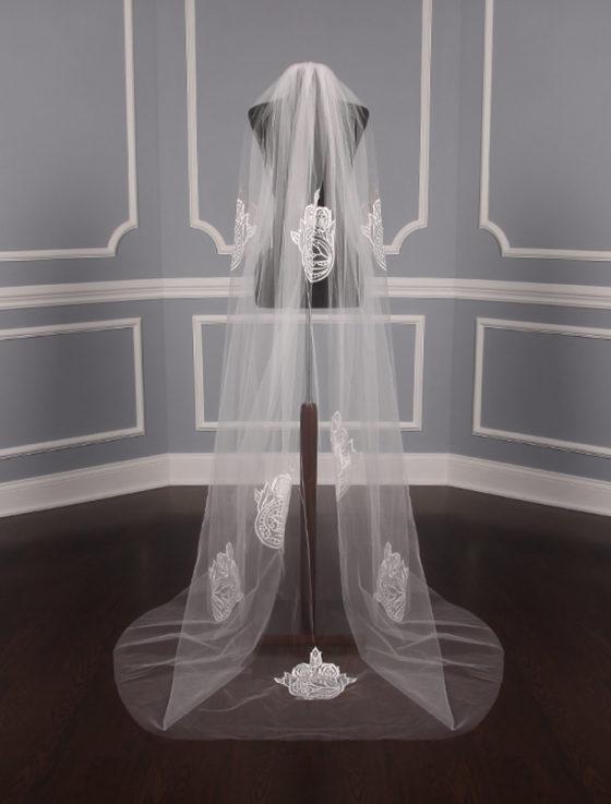 St. Pucchi M9368 Bridal Veil