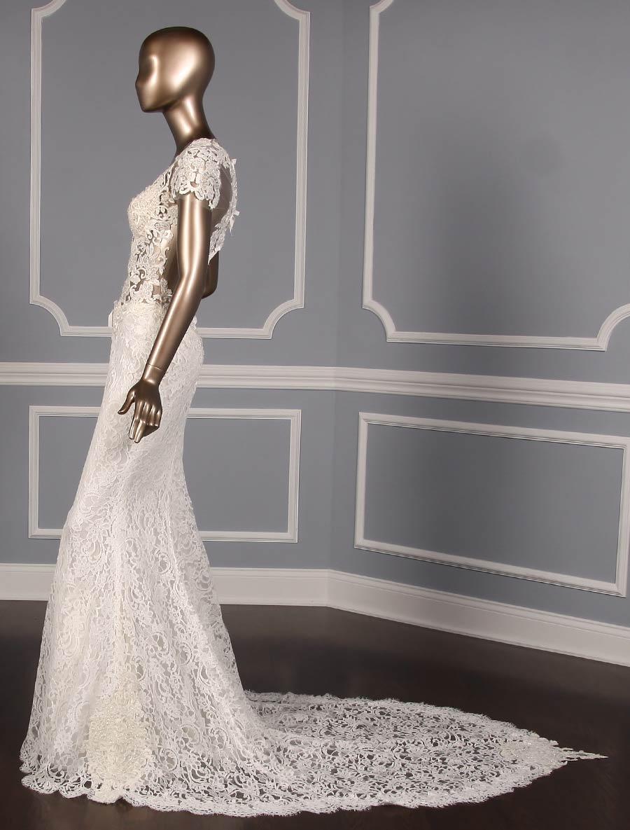 702bc4a43ccc ... Reem Acra Cheri 5624 Wedding Dress Size 10. Previous Next click to  enlarge. Previous Next