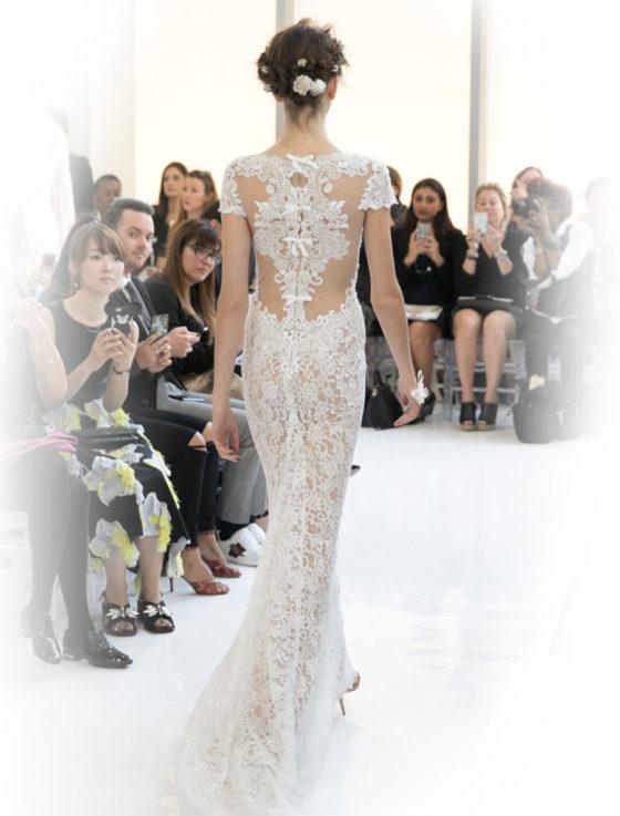 Reem Acra Cheri 5624 Wedding Dress Back