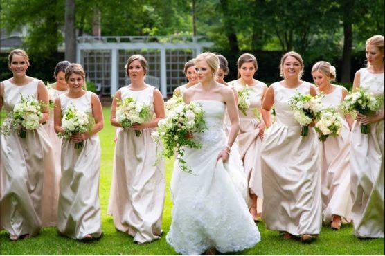 Sarah James Oscar de la Renta Aline 55E07 Bridesmaids