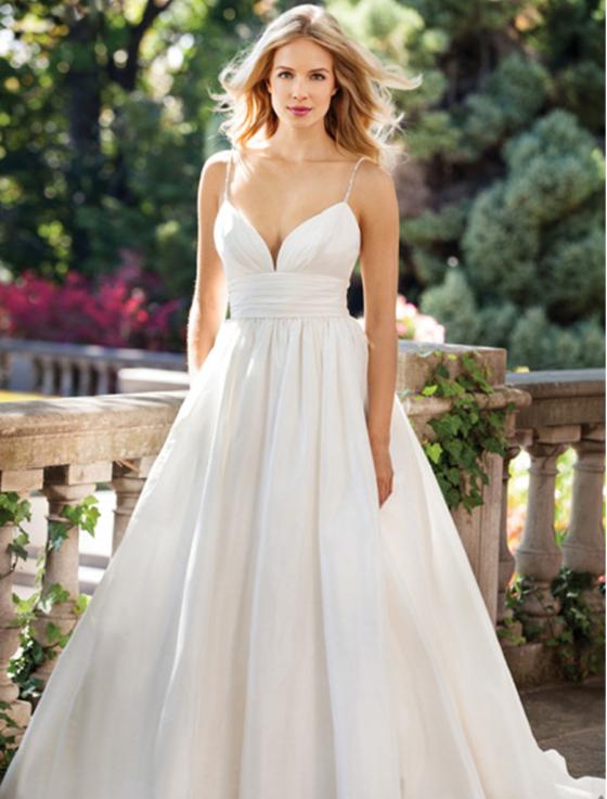 Lea-Ann Belter Wedding Dresses Madeleine Full Front Photo