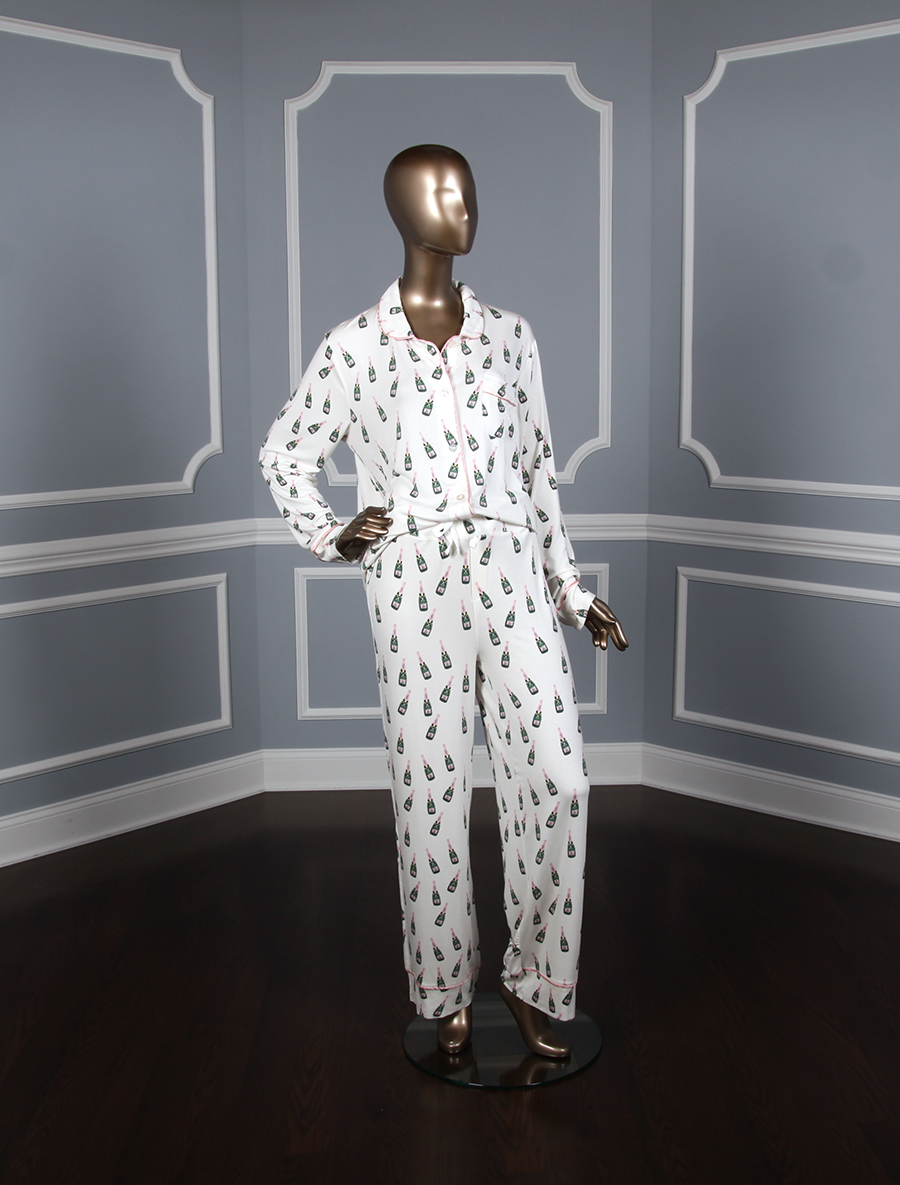 Toss Designs Champagne Pajama Set Front