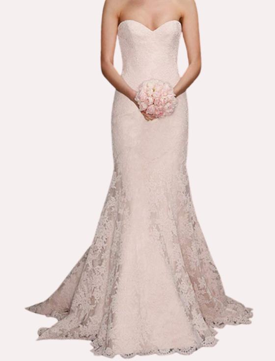 Romona Keveza Legends L7125 Lace Wedding Dress